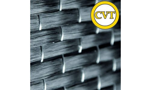 Hot-welded unidirectional carbon fibre reinforcement